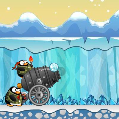 Гра Руйнування: Війна Пінгвінів з Ведмедями