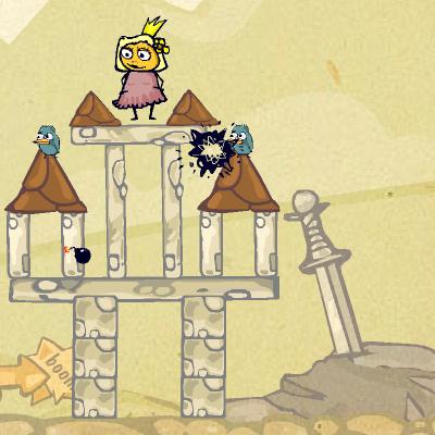 Гра Зруйнувати Вежу і Звільнити Принцесу