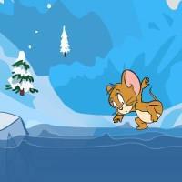 Гра Том і Джеррі крижані стрибки