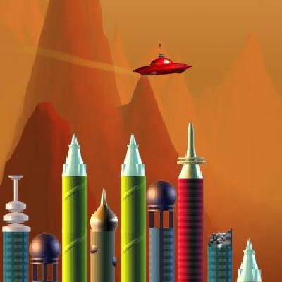 Гра Руйнування Будівель з НЛО