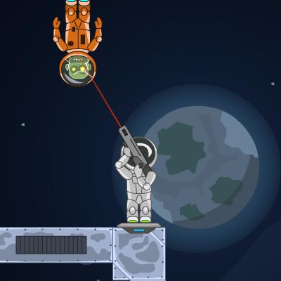 Гра Убивчий Рикошет у Космосі