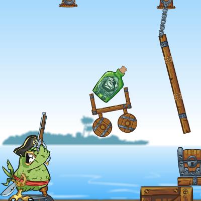 Гра Рикошет Папуги: Порятунок Душ Піратів