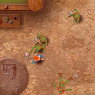 Рольова Гра: Напад Орків і Тролів