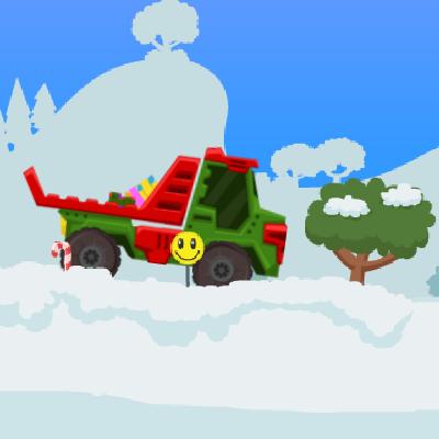 Гра Санта Клаус на Вантажівці