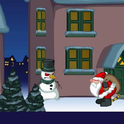 Гра Санта Клаус в Реактивних Штанях