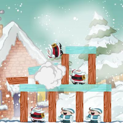 Гра Зріж Поганого Санта Клауса