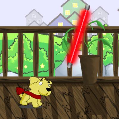 Гра Літаюча Собака на Реактивному Ранці