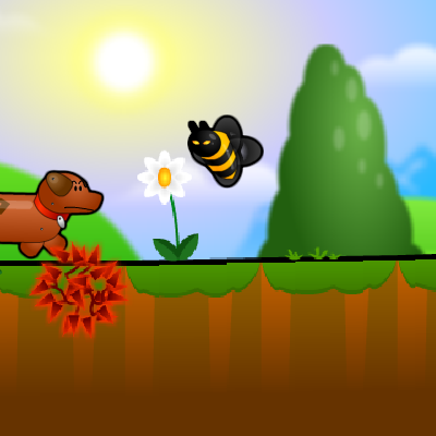 Гра Пригода Собаки: Деш і Пес у Злом Лісі