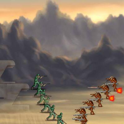 Тактична Гра: Гуманоїди проти Механізмів