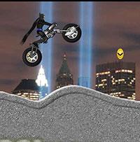 Гра Бетмен на гірському мотоциклі