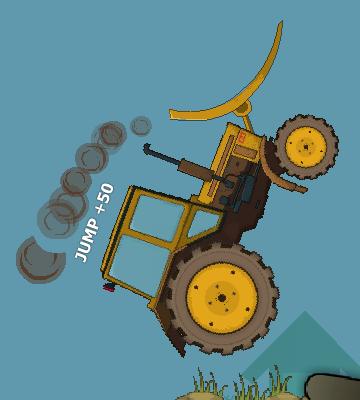 Гра Потужний Трактор: Подолання Перешкод