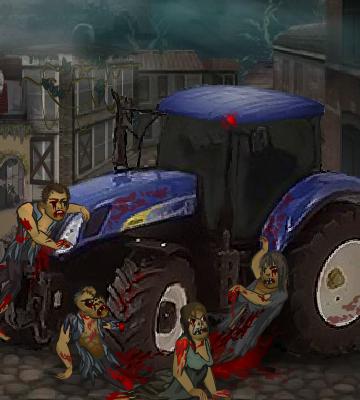 Гра Трактор Зомбі