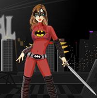Онлайн гра Одягни дівчину Бетмена