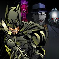 Онлайн гра Одягни Бетмена