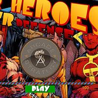 Гра Люди Ікс захищають місто