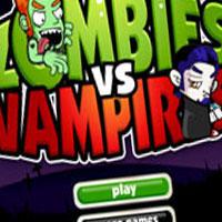 Гра Вампіри проти Зомбі: непримиренна ворожнеча!
