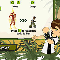 Гра Аніме пригоди: Бен 10 в джунглях