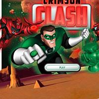 Гра Зелений ліхтар трощить ворогів - прийми участь у сутичці один на один!