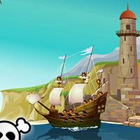 Гра Класні піратські бої: йо-хо-хо, і пляшка рому!