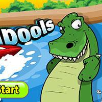 Гра На човні від крокодилів