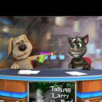 Гра Розмовляючий кіт Том 2: Розмовляючий кіт веде новини!