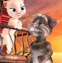Гра Розмовляючий кіт Том 3: Розмовляючий кіт з подругою!