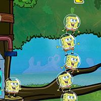 Гра Башта з клонів Губки Боба