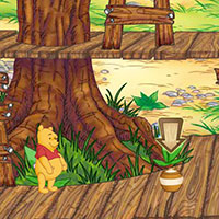 Гра Пошук предметів: Вінні шукає мед!