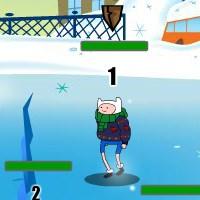 Гра Час Пригод: Гра в сніжки!!
