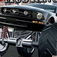 Гра Гонки на вантажівках: Божевільні мустанги!