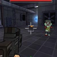 Гра 3D стрілялка: Майнкрафт-зомбі!!