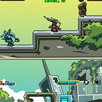 Гра Стрілялка на двох: Війни роботів!!