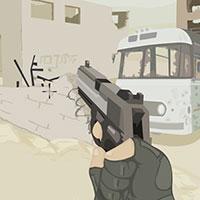 Гра Тренування стрільби в пустелі: грай безкоштовно онлайн!!