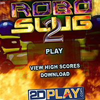 Гра Стрільба на планеті роботів: грай безкоштовно онлайн!!