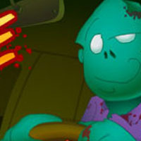 Гра Зомбі на машинах: Гонитва за мізками!!