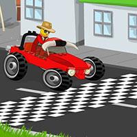 Гра Лего: Родео на машині!!