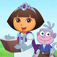 Гра Даша Слідопит: Втеча принцеси!!