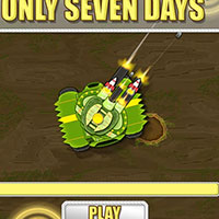 Гра Танки: Протриматися 7 днів!!