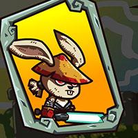 Гра Бійки на мечах: Кунг Фу Кролики!!