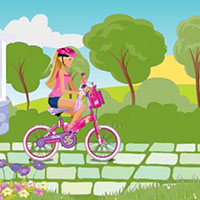 Гра Барбі катається на велосипеді