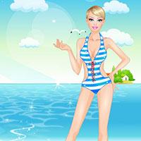 Гра Барбі на пляжі
