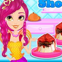 Гра Готуємо їжу: Полуничний десерт!