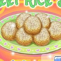 Гра Готуємо їжу: Солодкі рисові кульки!