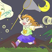 Гра бродилки: Злови метелика