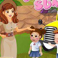 Гра Догляд за малюками: Літній табір