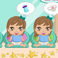 Гра Догляд за малюками на швидкість