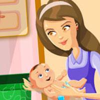 Гра Догляд за малюками: Ідеальна мама