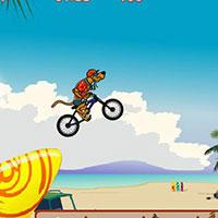 Гра Скубі Ду катається на велосипеді