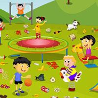 Гра Прибирання на дитячому майданчику: грай безкоштовно онлайн!