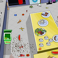 Гра Прибирання в будинку Лунтика: грай безкоштовно онлайн!